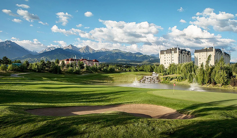 Golf in Almaty