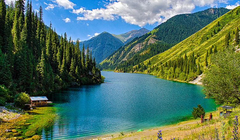 Almaty with Kolsai Lake